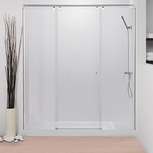 Mampara baño , 2fijos ,1hoja abisagrada
